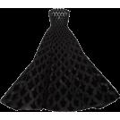 HalfMoonRun Dresses -  OSCAR DE LA RENTA gown