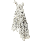 HalfMoonRun Dresses -  OSCAR DE LA RENTA lace dress