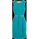 Bev Martin Haljine -  Oasis Paloma Teal Embellished Dress