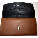 Osgoode Marley Wallets -  Osgoode Marley Womens Leather Card Case Wallet Brandy
