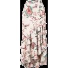 pwhiteaurora Skirts -  PATBO floral print ruffle maxi skirt