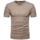 Paul Jones 半袖シャツ・ブラウス -  PAUL JONES Men's Regular-Fit Sweetheart Neck Shirt PJ0138