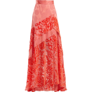 beautifulplace Skirts -  PETER PILOTTO  Floral-devoré velvet skir