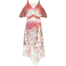 beautifulplace 连衣裙 -  PETER PILOTTO Floral stretch silk dress