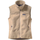 Patagonia Maglie -  Patagonia Women's Retro-X Vest Black Gravel, X Large Natural W Rice Paper