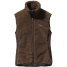 Patagonia Maglie -  Patagonia Women's Retro-X Vest Black Gravel, X Large Peat Brown