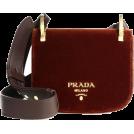 Aurora  Hand bag -  Prada Velvet Saddle Bag