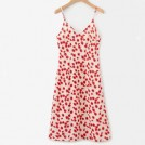 FECLOTHING Dresses -  Printed V-neck sling dress
