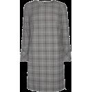 lence59 Haljine -  Purple/Grey Check Dress
