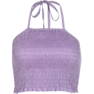 FECLOTHING Shirts -  Purple halter strap vest