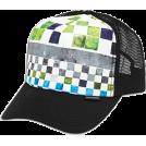 Quiksilver Cap -  Quiksilver Boards Trucker Hat - Men's Lime  Size:   One Size