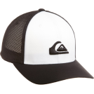 Quiksilver Cap -  Quiksilver Boys 8-20 Netts Hat Black/White