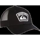 Quiksilver Cap -  Quiksilver Men's Helpdesk This is Daniel Hat Black/White