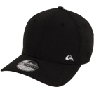 Quiksilver Cap -  Quiksilver New Era 39THIRTY Scrills Flex Hat - Black