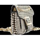 HalfMoonRun Torbice -  ROGER VIVIER houndstooth bag