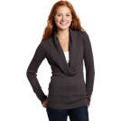 Rampage Pullovers -  Rampage Juniors Cowl Neck Pullover Sweater Grey