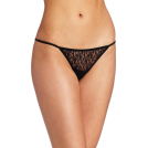 Rampage Thongs -  Rampage Women's Lace Thong Black