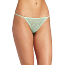 Rampage Thongs -  Rampage Women's Lace Thong Green