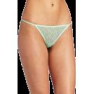 Rampage Cinturini -  Rampage Women's Lace Thong Green