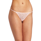 Rampage Thongs -  Rampage Women's Lace Thong Pink