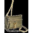 Rebecca Minkoff Clutch bags -  Rebecca Minkoff  Mini Mac Clutch Lame Clutch Gold lame
