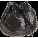 Rebecca Minkoff Brieftaschen -  Rebecca Minkoff Mesh Pouchette Wallet Black