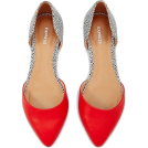 sandra  Balerinke -  Red And Spotted D'orsay Flat | Express