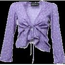 FECLOTHING Cardigan -  Retro sexy V-necked cardigan