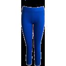 FineBrandShop Leggings -  Royal Blue Leggings Three Quarter Length