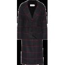 glamoura Jacket - coats -  SELF-PORTRAIT Checked wool-blend coat