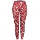 SUNGLORY Pants -  SUNGLORY Women's Christmas Leggings Snowflake Stocking Pants Stretchy Tights