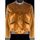 carola-corana Jacket - coats -  Saint Laurent Velvet Ribbed Bomber Jacke