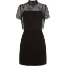 sandra  Dresses -  Sandro Layered Lace Dress