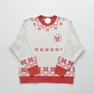 FECLOTHING Pullovers -  Santa Claus Snowflake Colorblocked Round