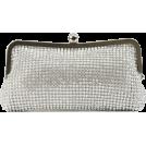 Scarleton Clutch bags -  Scarleton Elegant Crystal Clutch H3008 Silver
