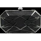 Scarleton Clutch bags -  Scarleton Hard Case Clutch H3054 Black