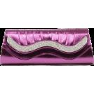 Scarleton Clutch bags -  Scarleton Metallic Clutch With Crystals H3015 Purple