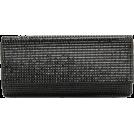 Scarleton Clutch bags -  Scarleton Rhinestone Flap Clutch H3016 Black