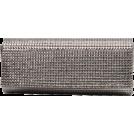 Scarleton Clutch bags -  Scarleton Rhinestone Flap Clutch H3016 Grey