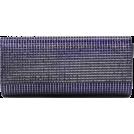 Scarleton Clutch bags -  Scarleton Rhinestone Flap Clutch H3016 Navy
