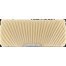Scarleton Clutch bags -  Scarleton Satin Flap Clutch With Crystals H3017 Gold