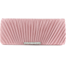 Scarleton Clutch bags -  Scarleton Satin Flap Clutch With Crystals H3017 Pink