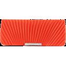 Scarleton Clutch bags -  Scarleton Satin Flap Clutch With Crystals H3017 Watermelon
