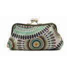 Scarleton Clutch bags -  Scarleton Soft Frame Clutch H3005 Green