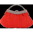 Scarleton Clutch bags -  Scarleton Soft Frame Clutch H3022 - Pink Red