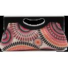 Scarleton Clutch bags -  Scarleton Wood Framed Embroidered Clutch H3001 Pink