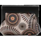 Scarleton Clutch bags -  Scarleton Wood Framed Embroidered Clutch H3002 Black