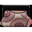 Scarleton Clutch bags -  Scarleton Wood Framed Embroidered Clutch H3002 Pink