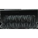 Scarleton Clutch bags -  Scarleton Wood Framed Quilted Clutch H3043 Black