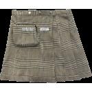 FECLOTHING Gonne -  Scottish plaid skirt vintage irregular h